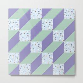 Cubes/ Metal Print