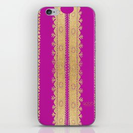 Traditional Dress - Pink  iPhone Skin