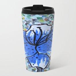 Lily Blue Travel Mug