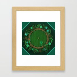 Halfling Holiday Framed Art Print