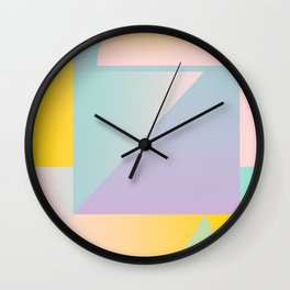 Geometrical composition Wall Clock