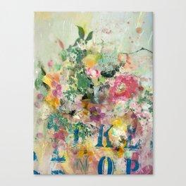 Bright Blossoms Canvas Print