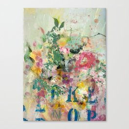 Bright Blossoms Canvas Print