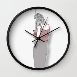 mending Wall Clock