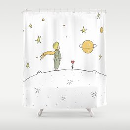 Little Prince II Shower Curtain