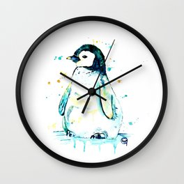 Penguin - Waddle Wall Clock