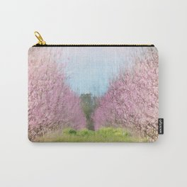 Peach Orchard Carry-All Pouch
