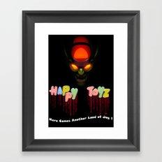 Happy Toyz Framed Art Print
