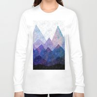 samsung Long Sleeve T-shirts featuring Fresh Peaks by Cullen Rawlins