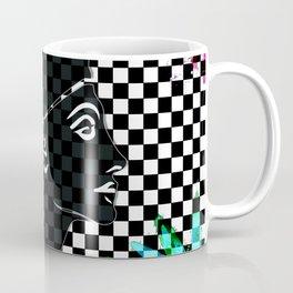 Queen Nefertiti Punk Rockstar Coffee Mug