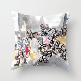 Knights of Camelot Throw Pillow