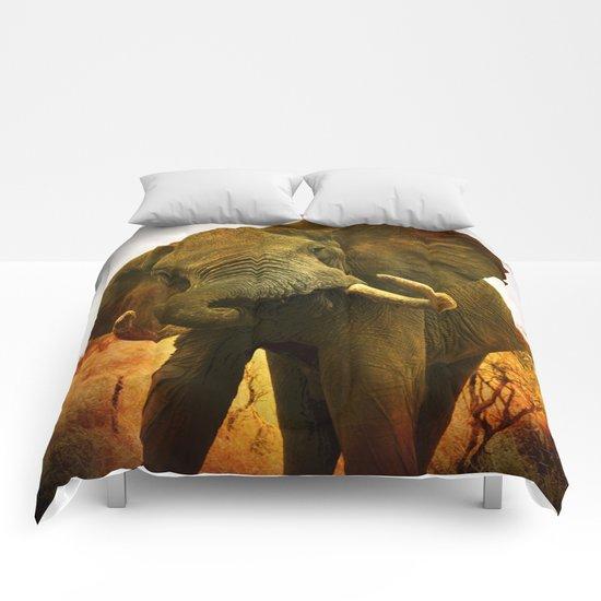 Mad Elephant Comforters
