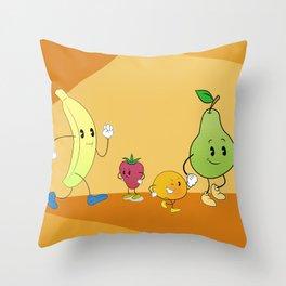 Hello summer2 Throw Pillow