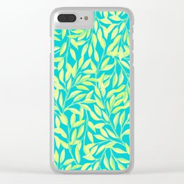 Colors Of Summer Clear iPhone Case