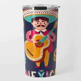 Man with Guitar – Mexico Travel Mug