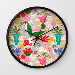 For the snails - Pattern Wall Clock