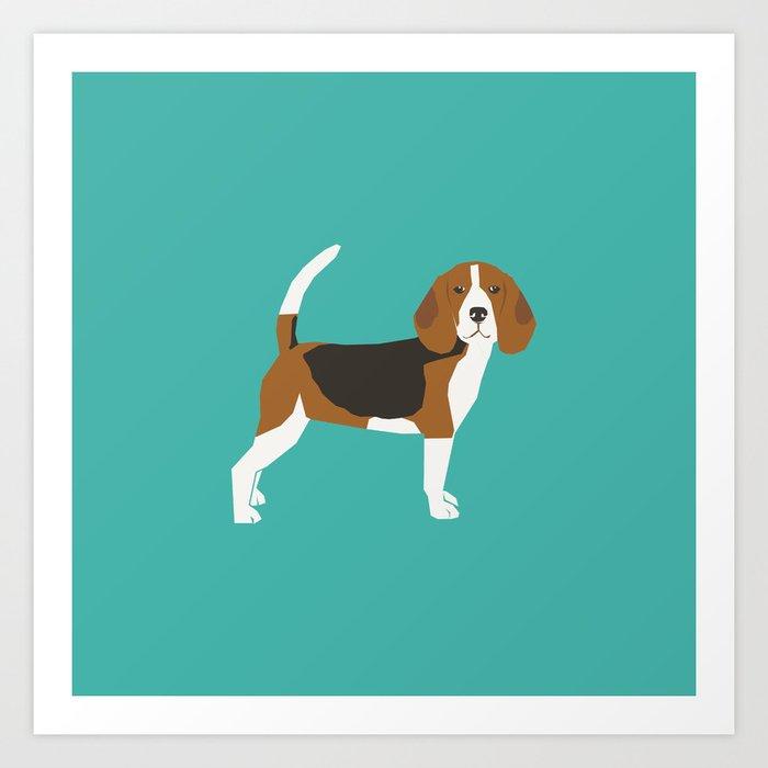 Beagle cute dog gifts pure breed must haves beagles Kunstdrucke