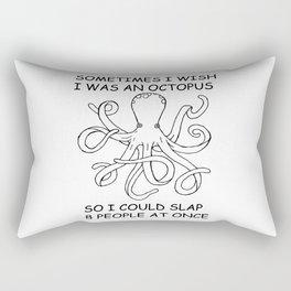 Sometimes I was an Octopus Rectangular Pillow