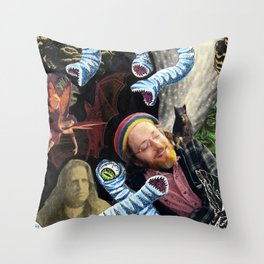 Reverie In The Thirteenth Hour Throw Pillow