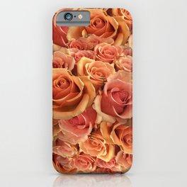 Roman Grenadier Roses iPhone Case