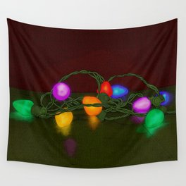 All Lit Up Wall Tapestry