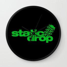 Static drop v5 HQvector Wall Clock