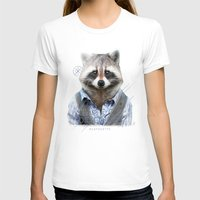 racoon T-shirts featuring Racoon by iacolarepierre