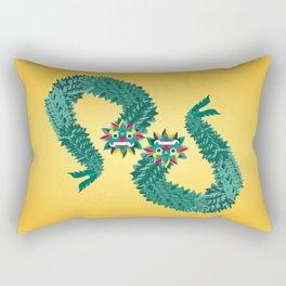 Quetzalcoalt Rectangular Pillow