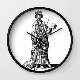 Old king Wall Clock
