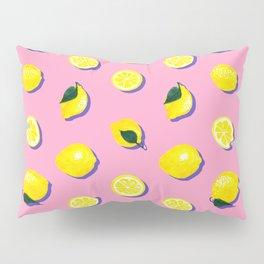 Pink Lemon ~ 80's Pattern Pillow Sham