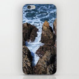 The Rocky Coast of California iPhone Skin