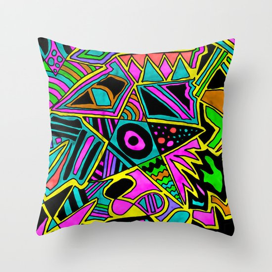 Cowabunga! Throw Pillow