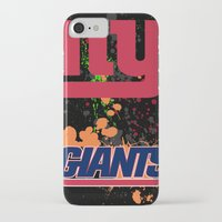 giants iPhone & iPod Cases featuring ny giants by Dan Solo Galleries