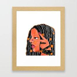 Queen Cleopatra. Framed Art Print
