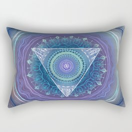 Ajna Third Eye Chakra Rectangular Pillow