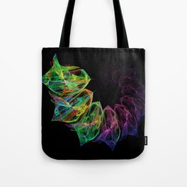 Fractal petals Tote Bag