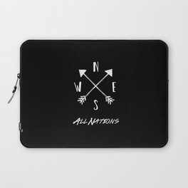 All Nations Laptop Sleeve