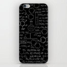 Chemistry Pattern iPhone Skin