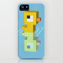 Devious Duckie iPhone Case