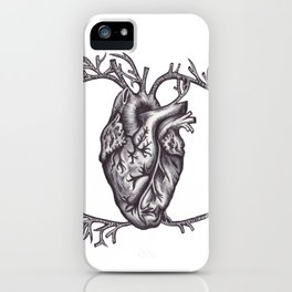One must look with the heart iPhone Case