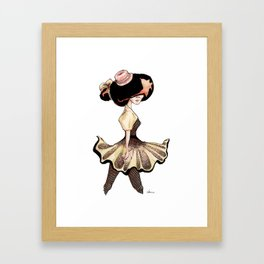 vogue girls II Framed Art Print