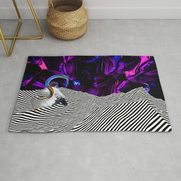 abstract art Rug