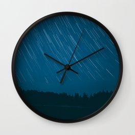 startrails Wall Clock
