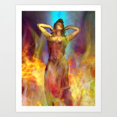 Ayesha she who must be obeyed Art Print