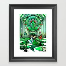 Habitat Framed Art Print