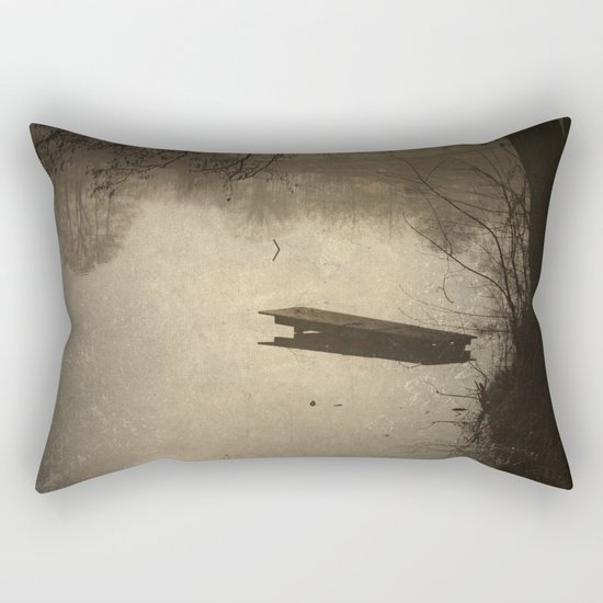 Mysterious Morning Rectangular Pillow
