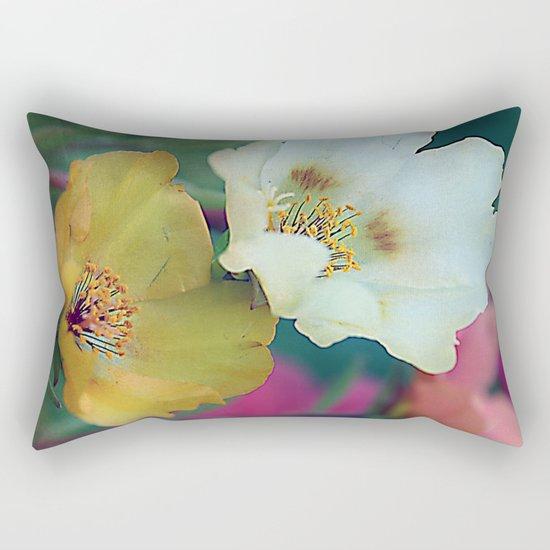 Flower duo Rectangular Pillow
