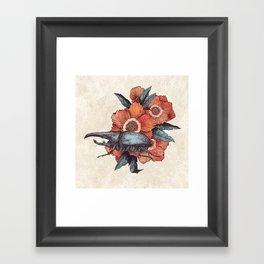 Hercules Beetle Framed Art Print