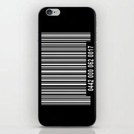 Barcode Inverse iPhone Skin