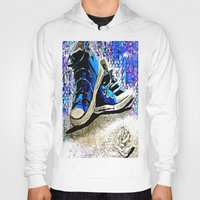 converse Hoodies featuring Converse Blues by Frankie Luna III